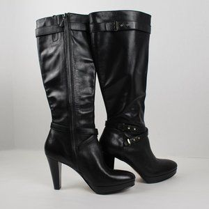 women's Cole Haan leather boots